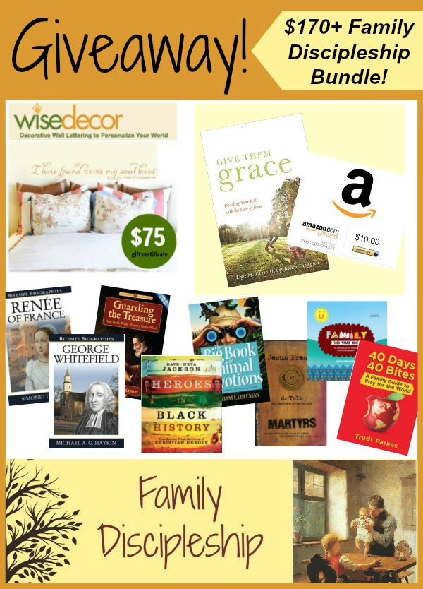 Family Discipleship Giveaway