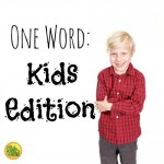 One Word Kids Edition