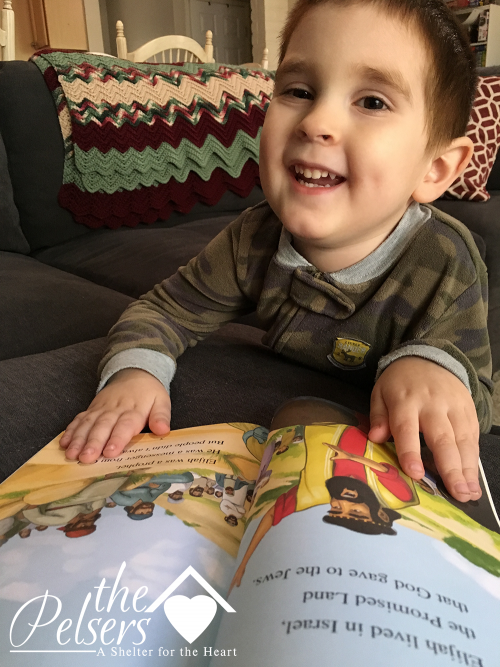 Reading Practice with Bible-Based Early Readers