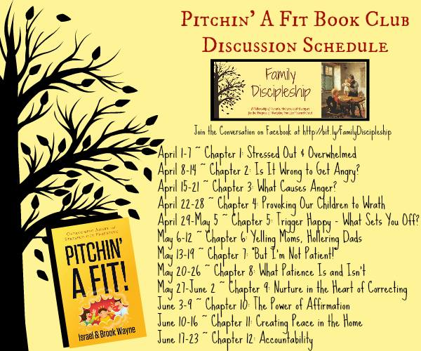 Pitchin' A Fit Book Discussion Schedule