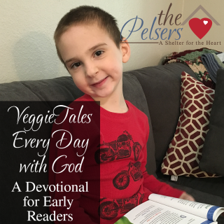 VeggieTales Every Day with God Devotional